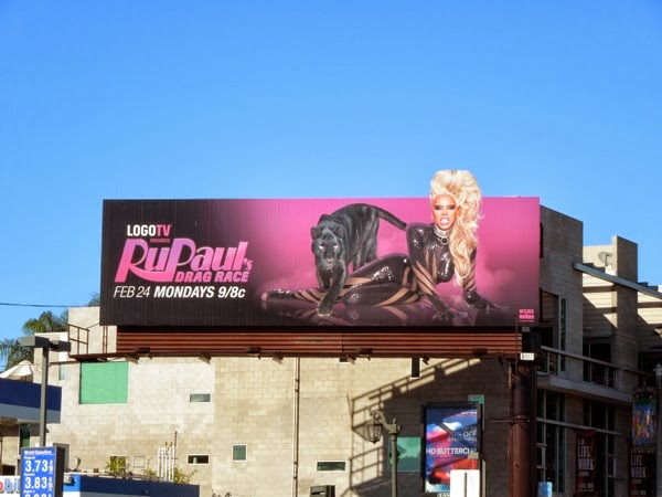 RuPaul's Drag Race season 6 extension billboard
