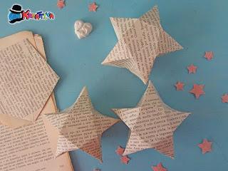 scatolina stella origami 3d