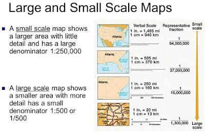 Soal Latihan UN Geografi Skala Peta HOTS Susah