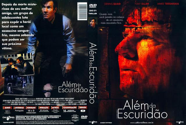 Capa DVD Além da Escuridão
