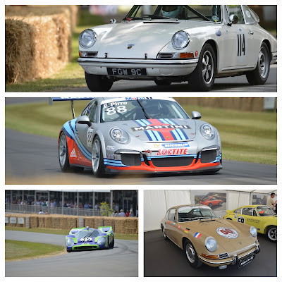 Porsche 911's 50th Year at Goodwood Festival of Speed 2013