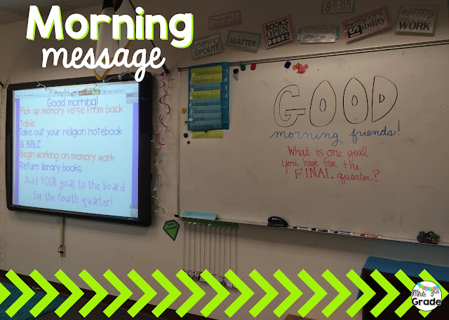 A great morning message is a fun way to get your students excited about the day and ready to tackle anything!