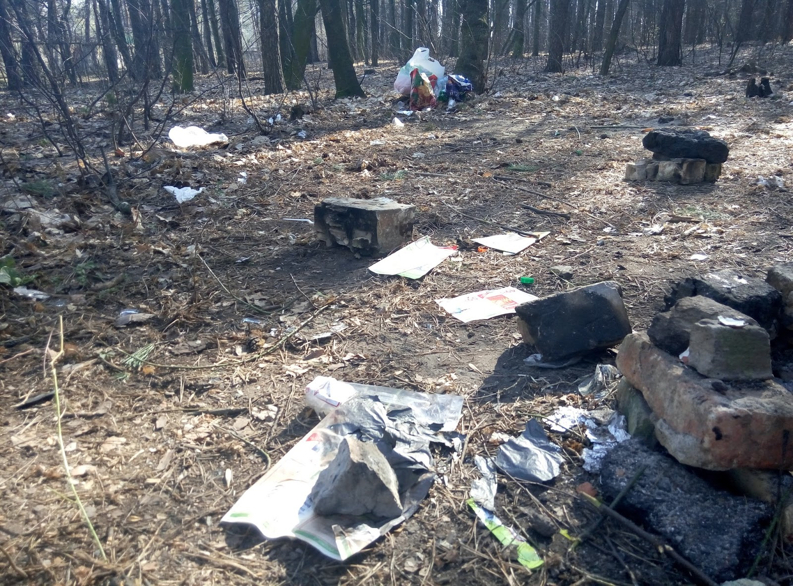 быдло на отдыхе мусор пикник