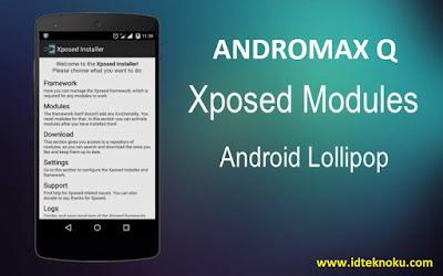 Xposed Framework Lolipop untuk Smartfren Andromax Q Update 17.10.2015