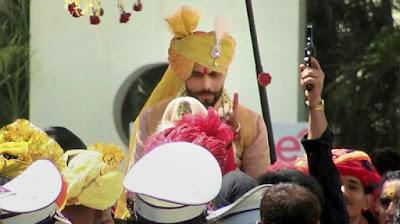 ravindra-jadeja-wedding-procession