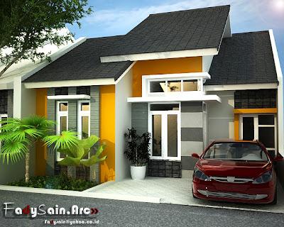 design 3d rumah modern minimalis | brown black uniqx template