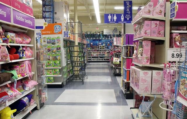 Loja Babies R Us para o enxoval do bebe na Califórnia