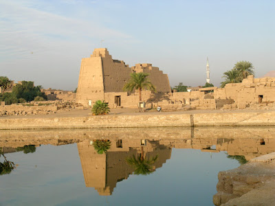 Discoveries and restoration works at Karnak