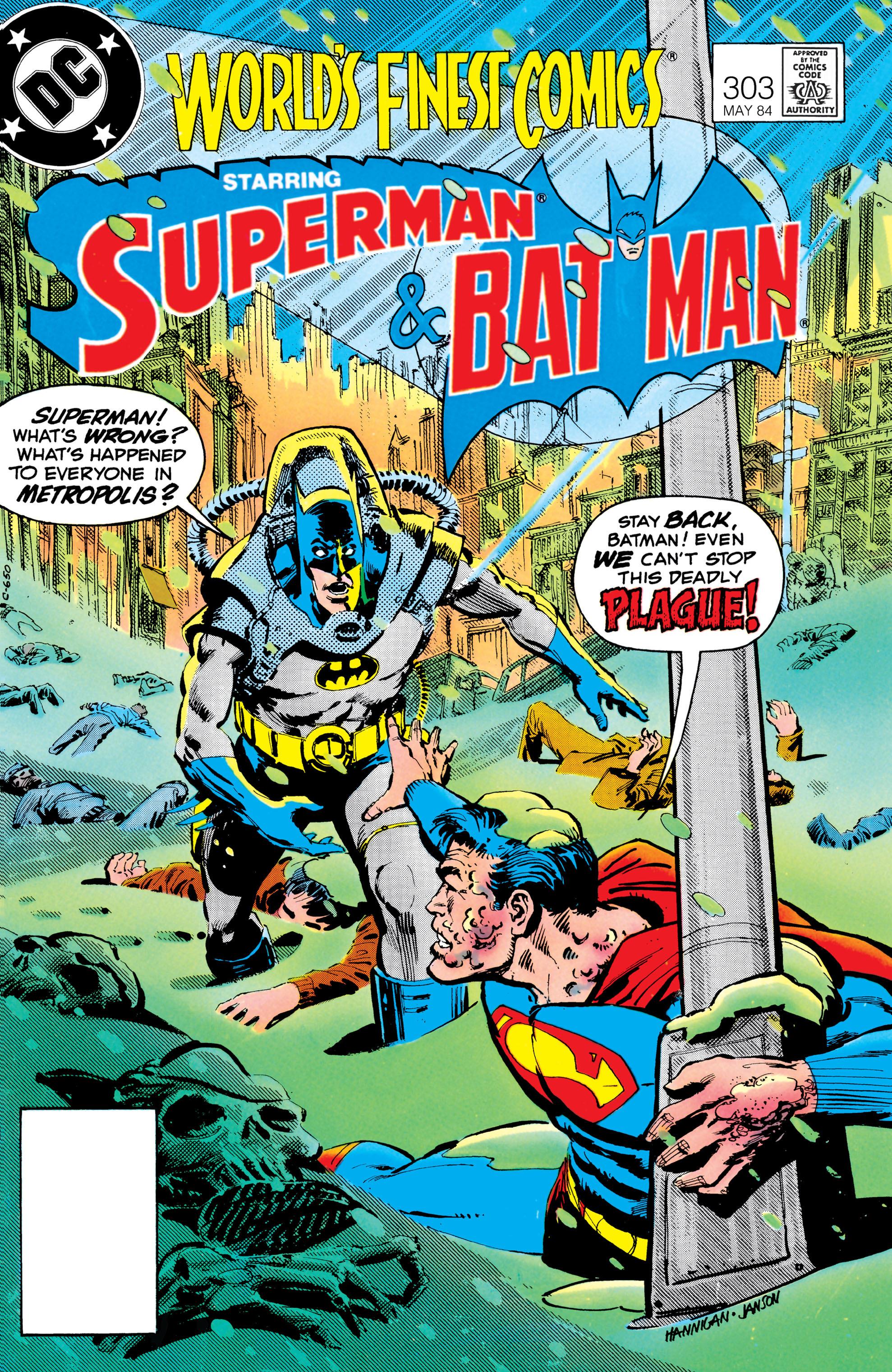 Read online World's Finest Comics comic -  Issue #303 - 1