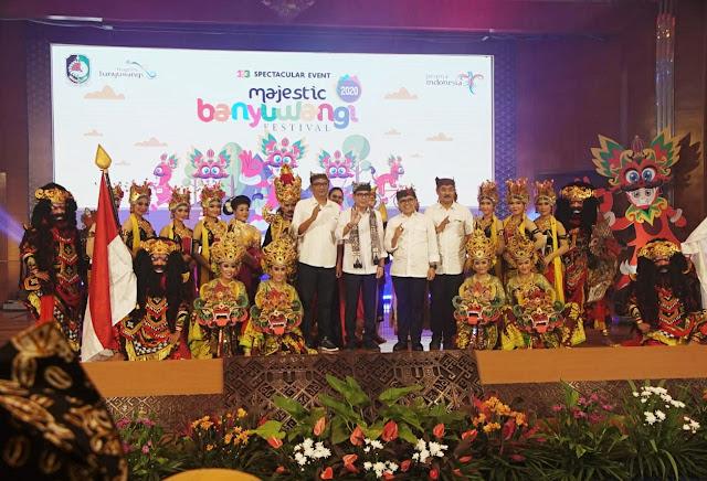 Menparekraf menjanjikan dukungan event super spektakuler untuk Banyuwangi.