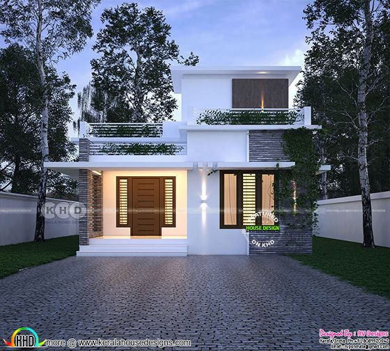 2 bedroom small house design architecture