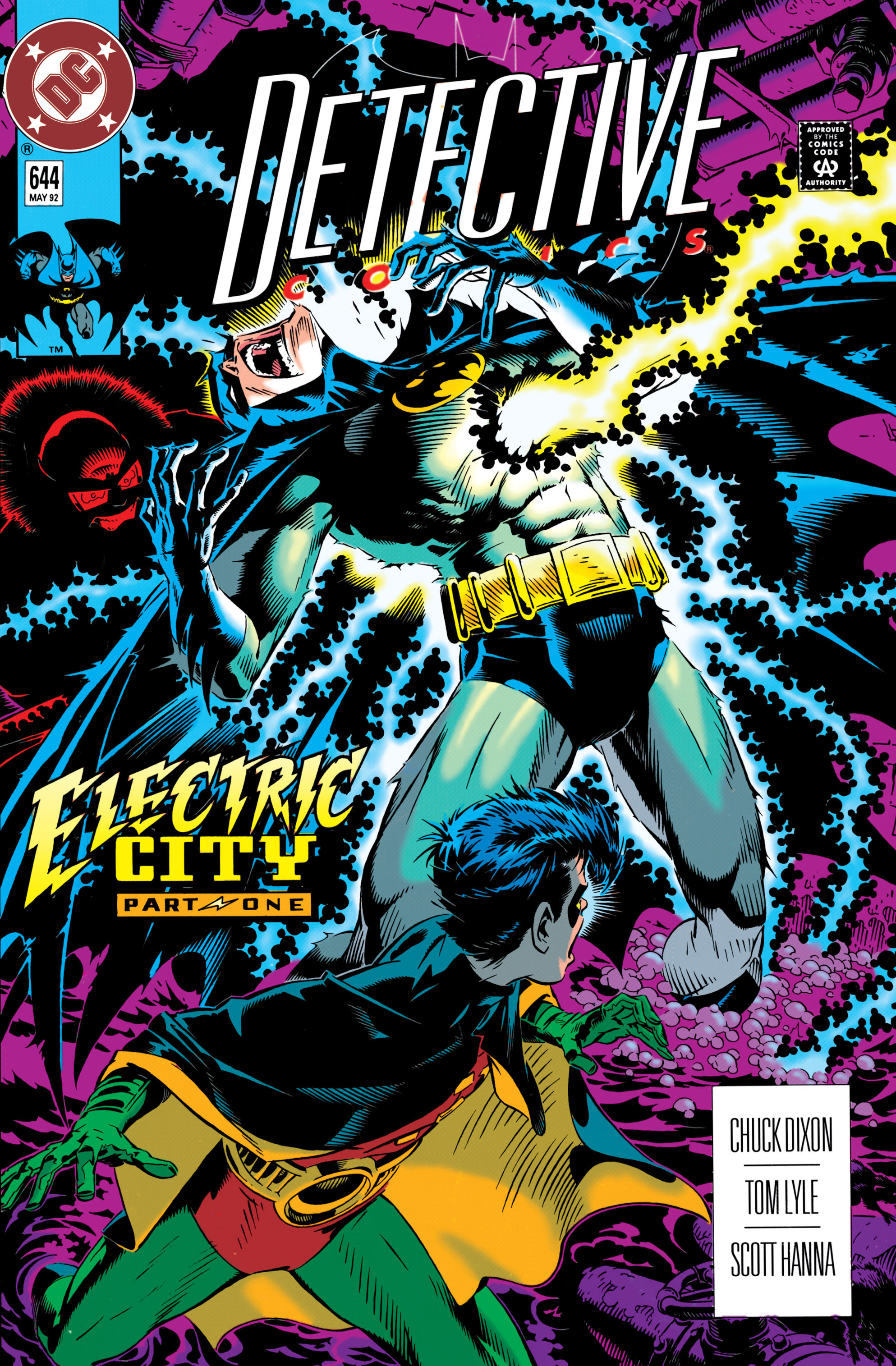 Detective Comics (1937) 644 Page 0