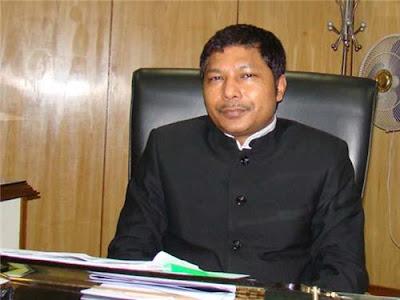 Chief Minister of Meghalaya Dr. Mukul M. Sangma
