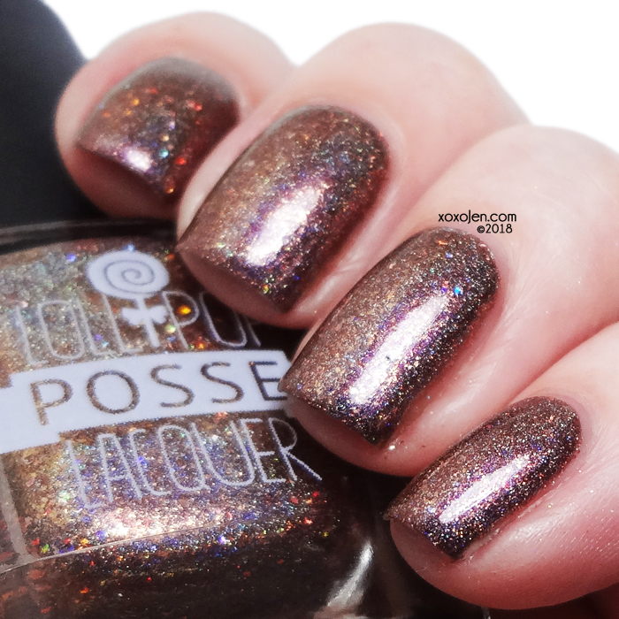 xoxoJen's swatch of Lollipop Posse Chestnuts Roasting