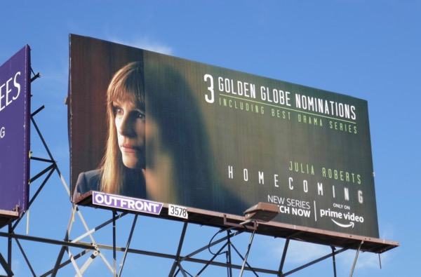 Homecoming season 1 Golden Globe nominee billboard