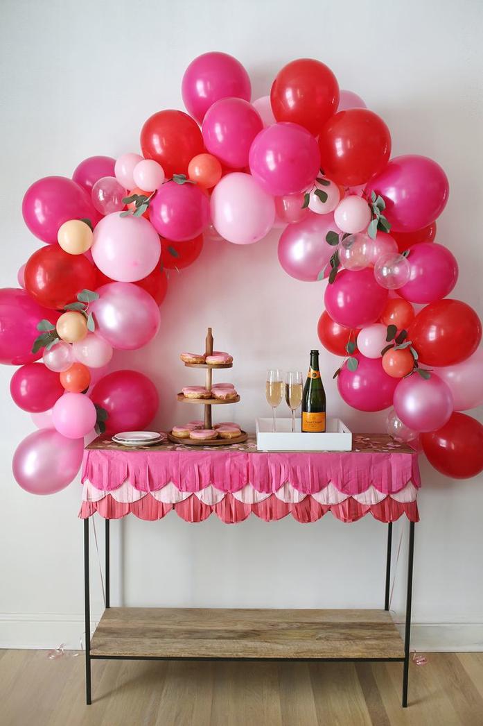 Beautiful DIY Balloon arch by A Beautiful Mess