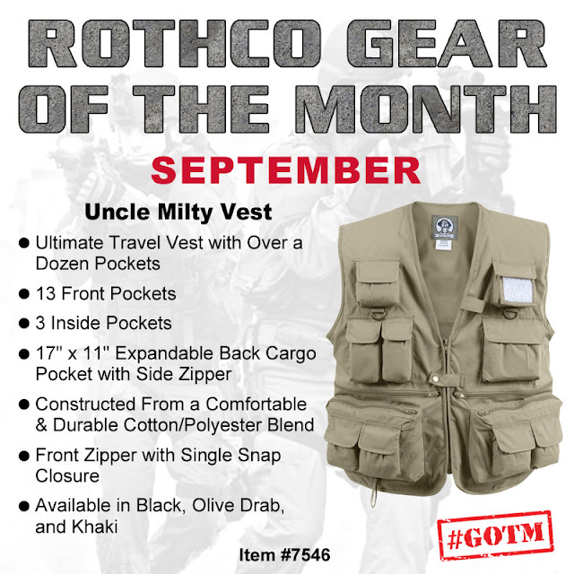 Travel Wisely with Rothco s #GOTM