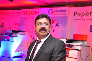 Avijit Mukherjee, Senior Manager Strategic Marketing for Ricoh Asia
