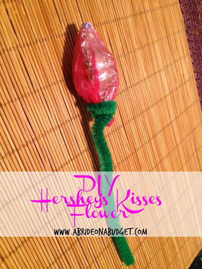 Diy Hersheys Kiss Flower