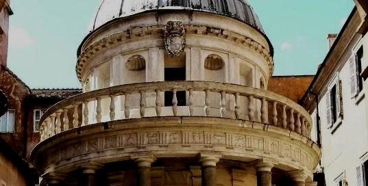 A spasso per Roma... in autobus: Il Tempietto di San Pietro in Montorio