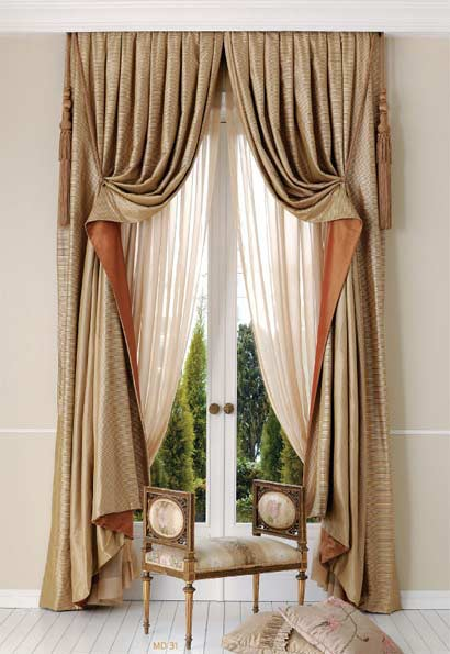 The best curtain designs and colors for bedroom 2018