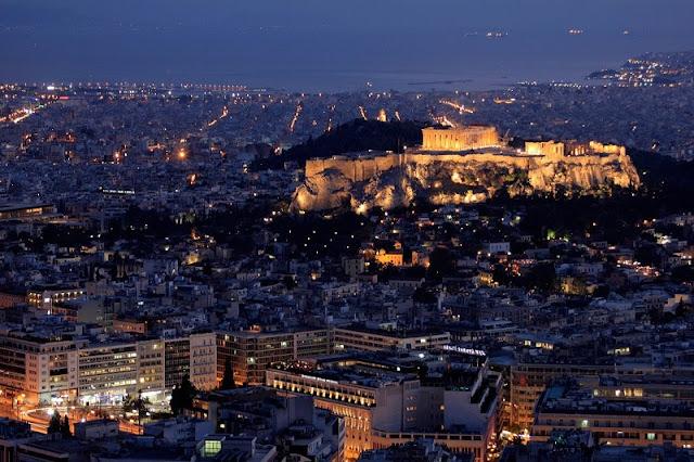 Fuso horário em Atenas