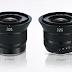 Il prezzo e le caratteristiche del Zeiss Touit 12mm f/2.8 e 32mm f/1.8