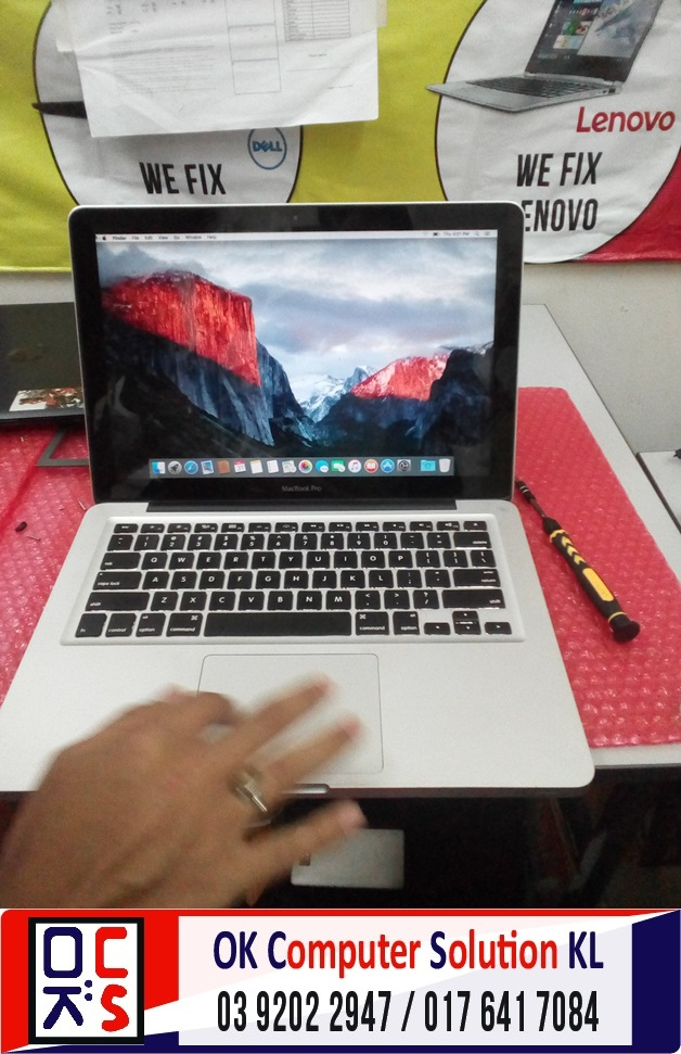 [SOLVED] MACBOOK A1278 ROSAK | REPAIR MACBOOK CHERAS 6