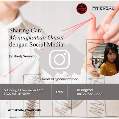 Sharing Cara Meningkatkan Omset dengan Social Media