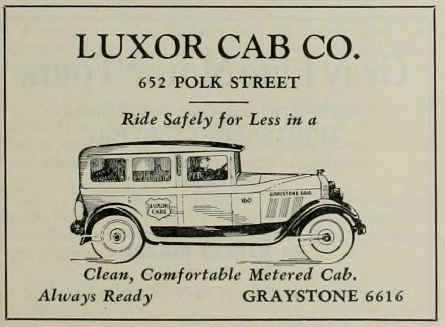 The Third Carriage Age: A History of San Francisco's Cab