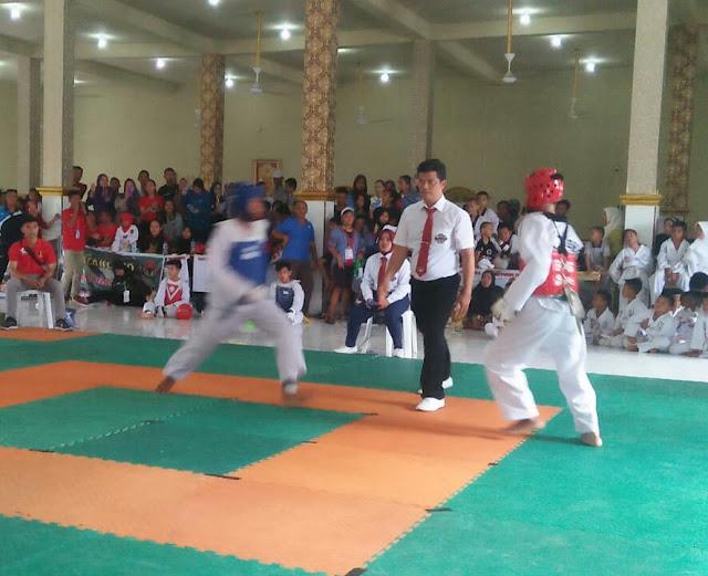 274 Taekwondoin Siap Bertarung Dalam  Open Tournament 1 Taekwondo SMA N21 Palembang