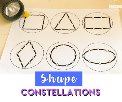 Shape Flashlight Constellations