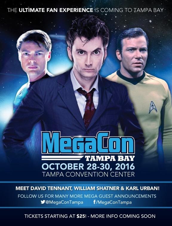 David Tennant at Mega Con Tampa Bay Fan Convention