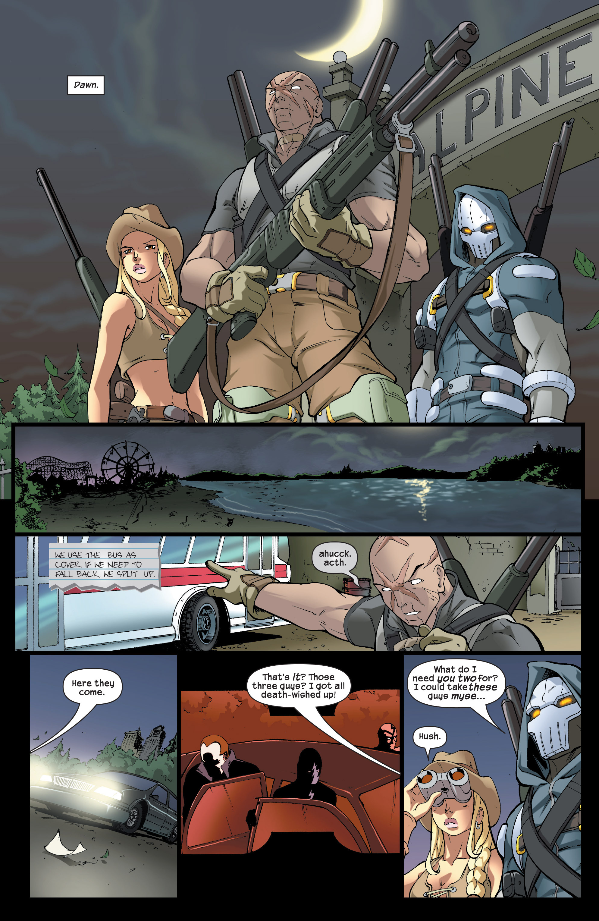 Read online Agent X comic -  Issue #5 - 23