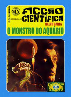 bolsilivro sos ficção científica cedibra série amarela ralph barby monstro aquário