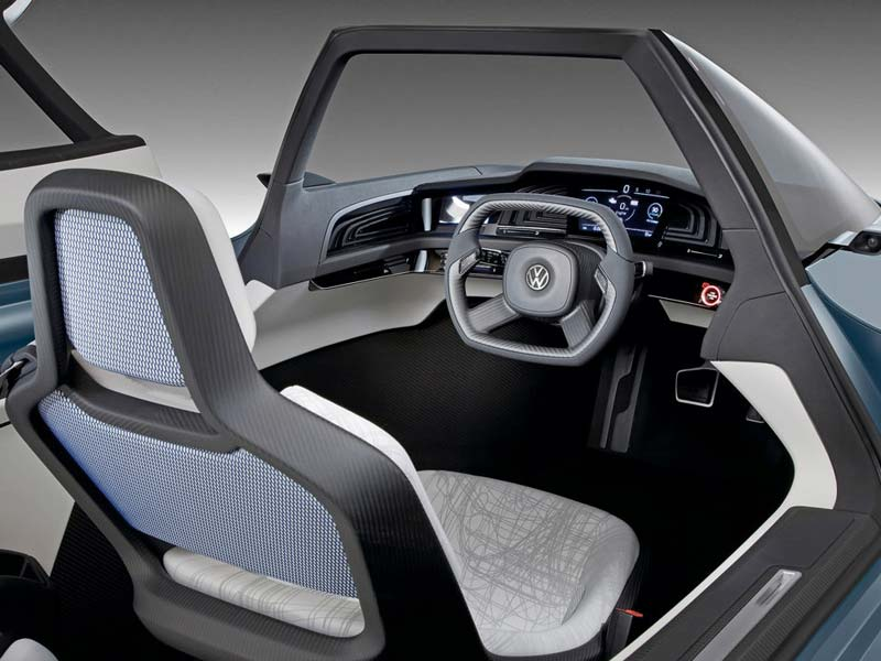 2009 Volkswagen L1 Concept Car Interior Design