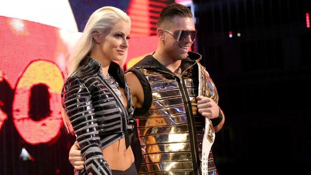 Maryse et The Miz forment le couple le plus en vue de la WWE