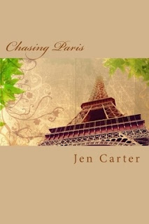 Chasing Paris by Jen Carter book cover
