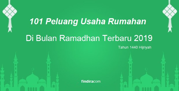 101 peluang usaha rumahan di bulan ramadhan terbaru 2019