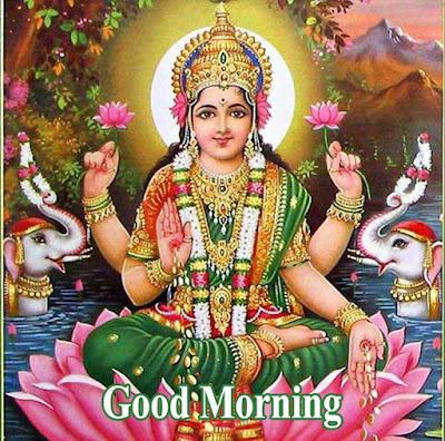 Good Morning Images With Laxmi Mata