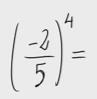 Potencia de una fracción 1