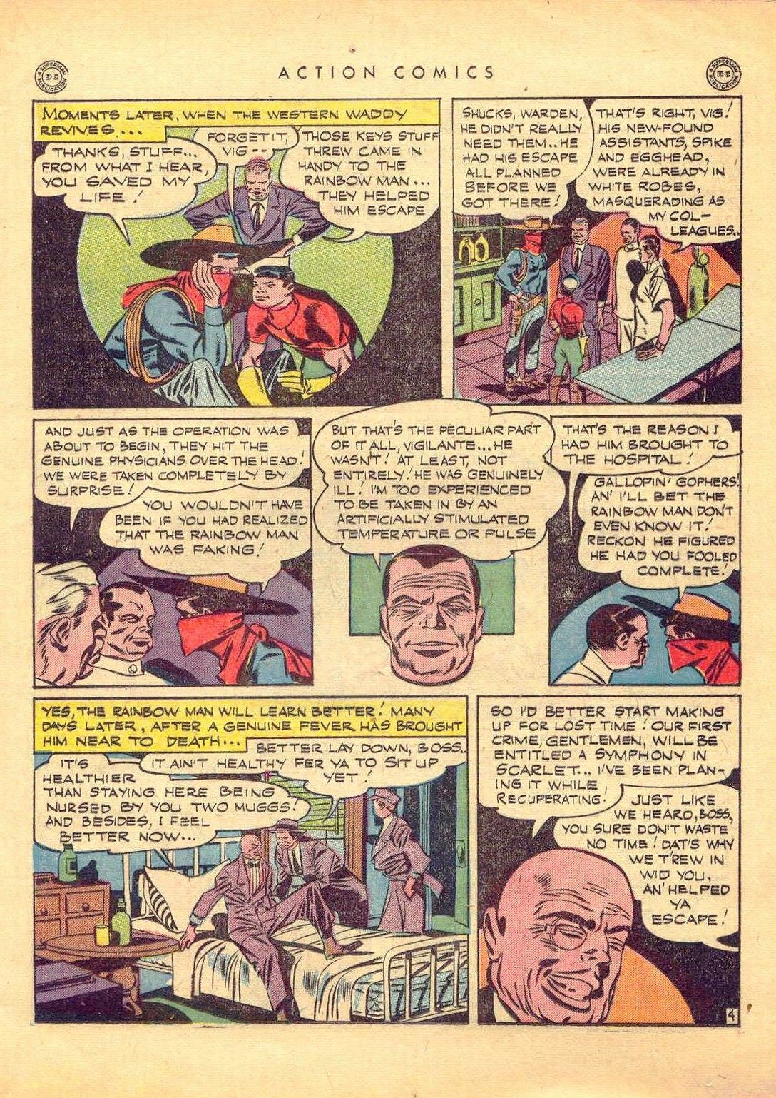 Read online Action Comics (1938) comic -  Issue #77 - 24