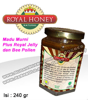 ROYAL HONEY NASA Rp.107.000,-