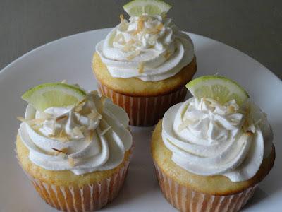 Mojito Cupcakes Using Cake Mix