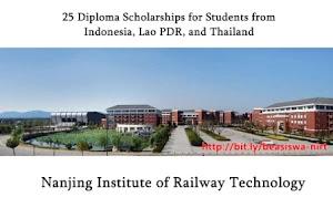 Beasiswa Diploma di Tiongkok oleh NIRT untuk Lulusan SMA Sederajat