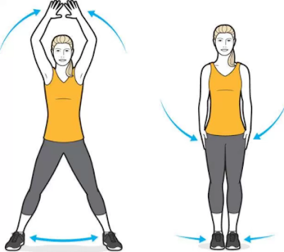 Jumping Jacks - Perfect Morning Workouts at Home