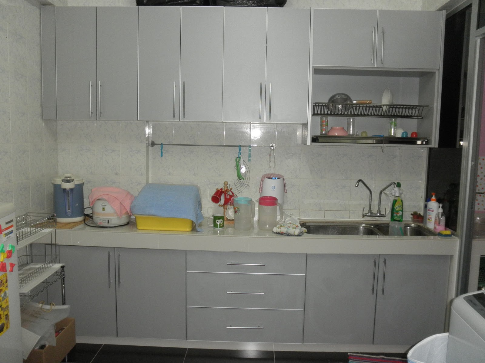 melamine kitchen cabinets 4 piece faucet cabinet design kuala lumpur