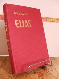 Elias oder die Zielsetzung der Erde. Die Bildersprache