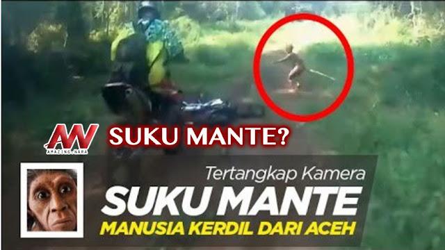 Makhluk Kerdil Misterius Diduga Suku Mante Ramai Dibicarakan Netizen