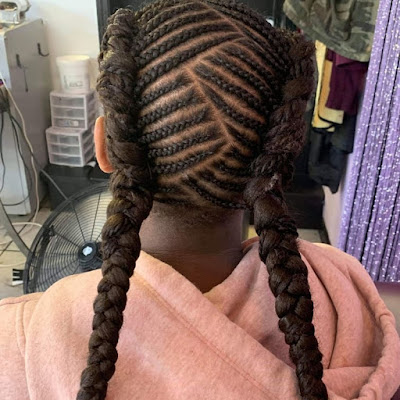 +27 Unique Tribal Braids Hairstyle 2019 For African American Women 3